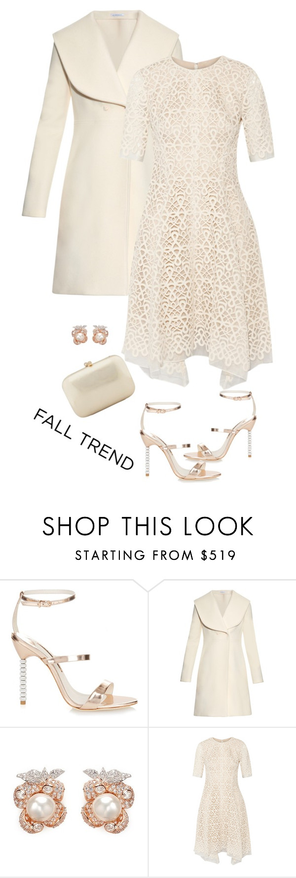 """""""Rose gold"""" by soniamazeto ❤ liked on Polyvore featuring Sophia Webster, J.W. Anderson, Anabela Chan, Lela Rose, Serpui and rosegold"""