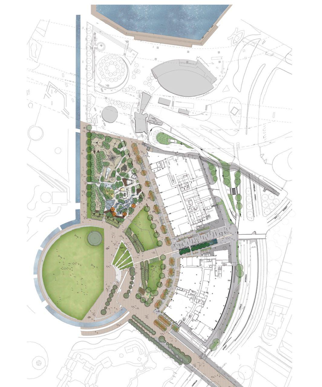 1319146331 landscape master plan active 1065 for Site plan with landscape