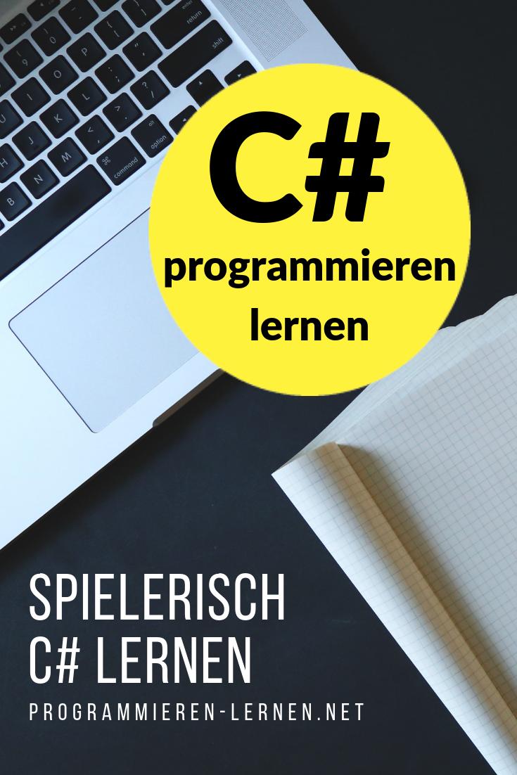 C# programmieren lernen