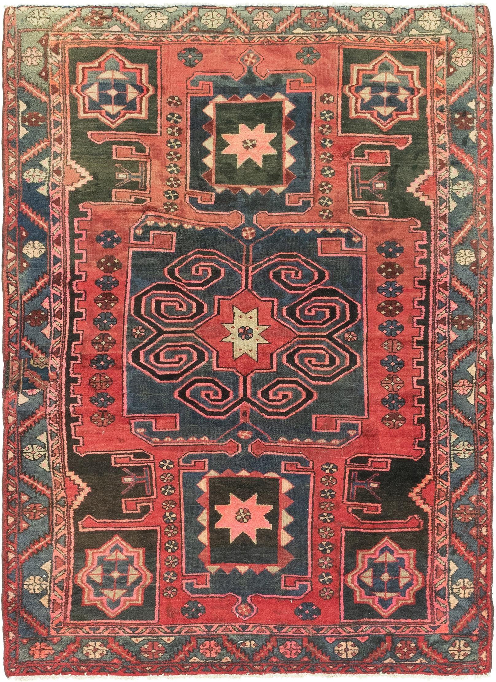 4 8 X 6 6 Zanjan Persian Rug Persian Rug Oriental Rug Cleaning Rugs