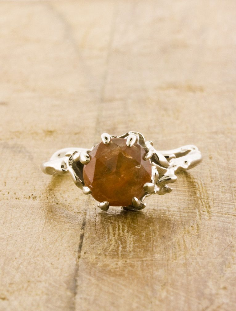 Ashley - rose quartz | Unique Engagement Rings, Conflict-Free Diamonds & Gemstones | Dana Walden Bridal