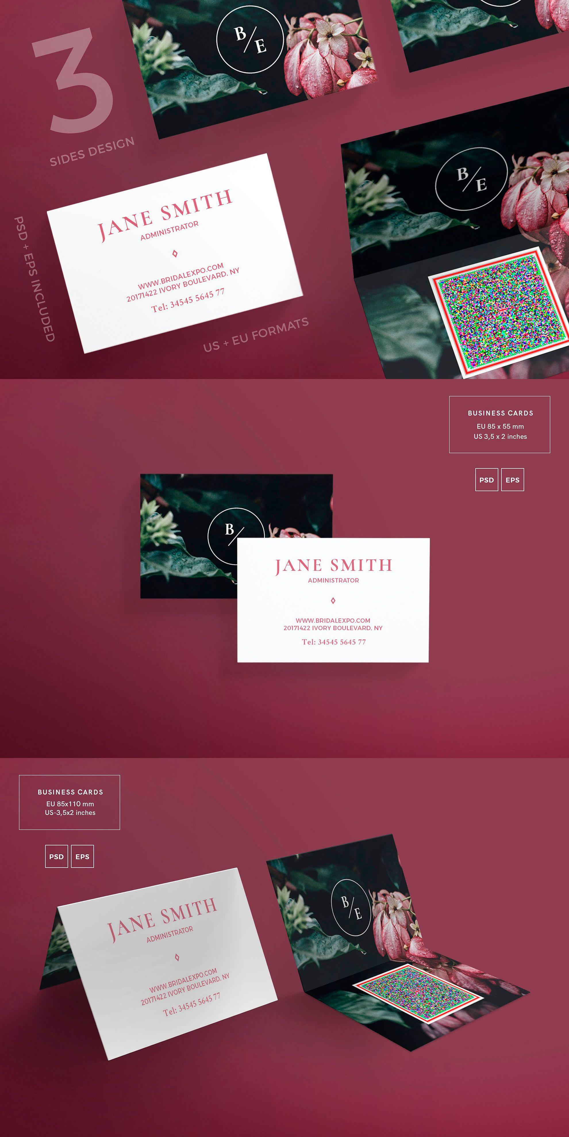 Business cards template bridal expo pdf jpg business card business cards template bridal expo pdf jpg friedricerecipe Images