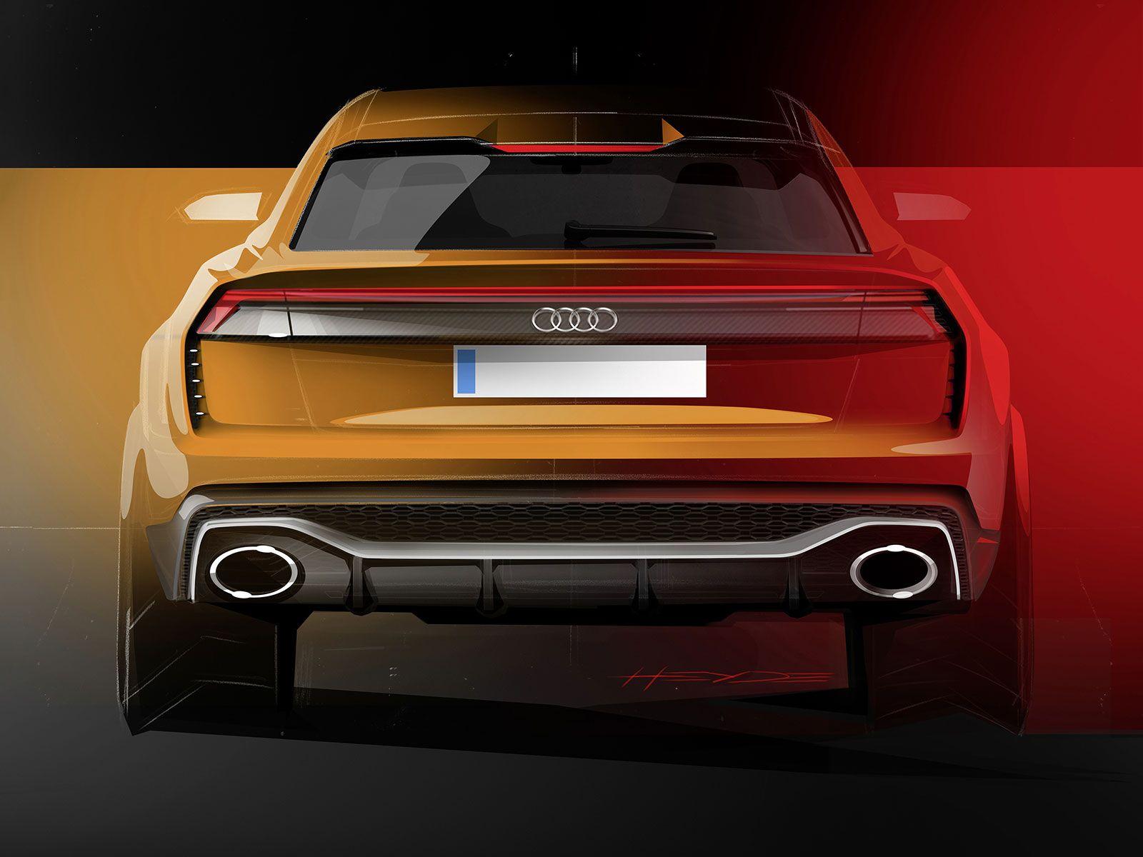 Audi Q8 Sport Concept design gallery