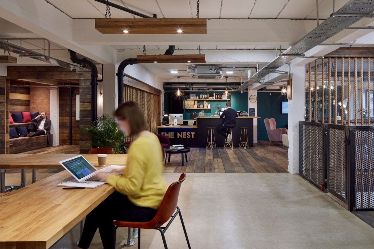 Office Tour The Nest London Commercial interior