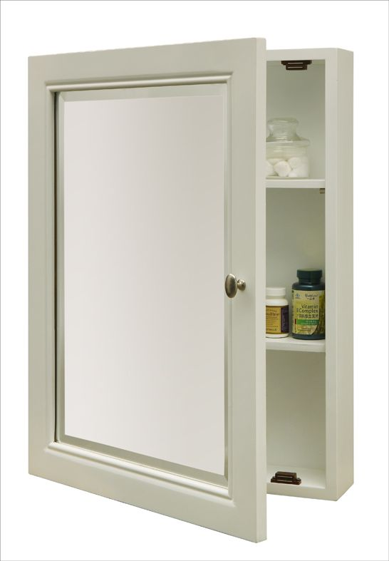 Lovely White Medicine Cabinet without Mirror