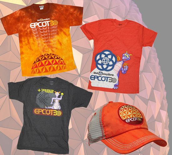 Upcoming Merchandise Celebrating the 30th Anniversary of Epcot - that HAT!