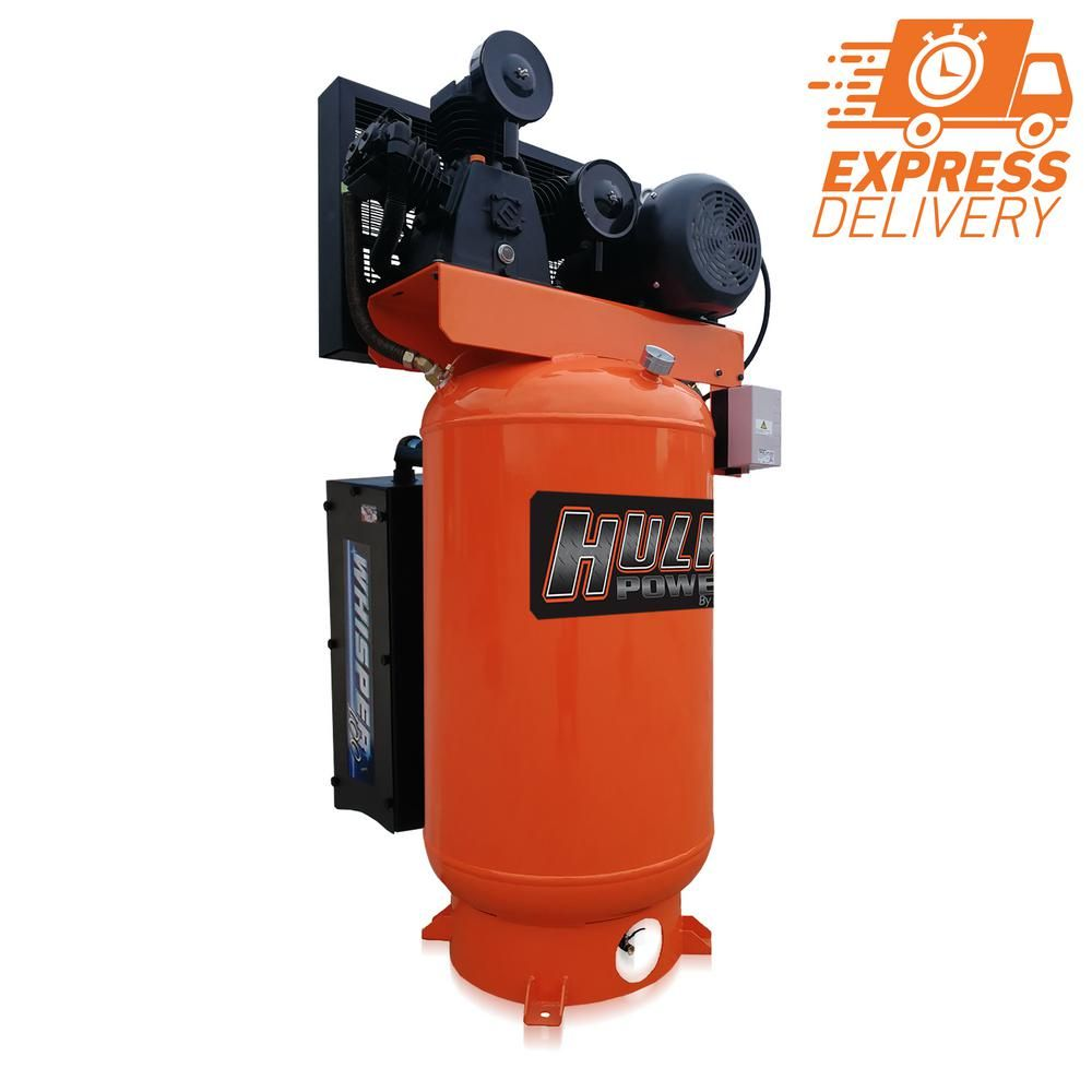 Hulk By Emax Silent Air Compressor Combines Their Classic 5 Hp Stationary Air Compressor And An As In 2020 Electric Air Compressor Silent Air Compressor Air Compressor