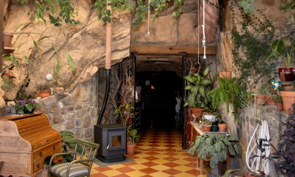 rock houses in the desert the cave house bisbee az in photos