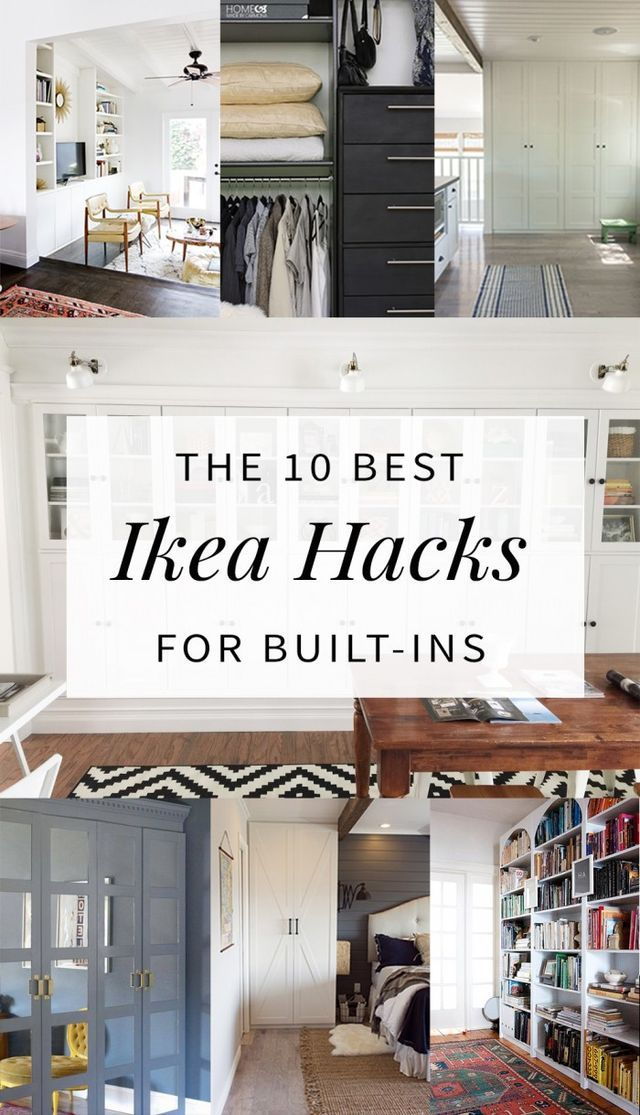 Review 10 Built In Ikea Hacks To Make Your Jaw Drop Hither and Thither Elegant - Cool ikea built in cabinets Inspirational