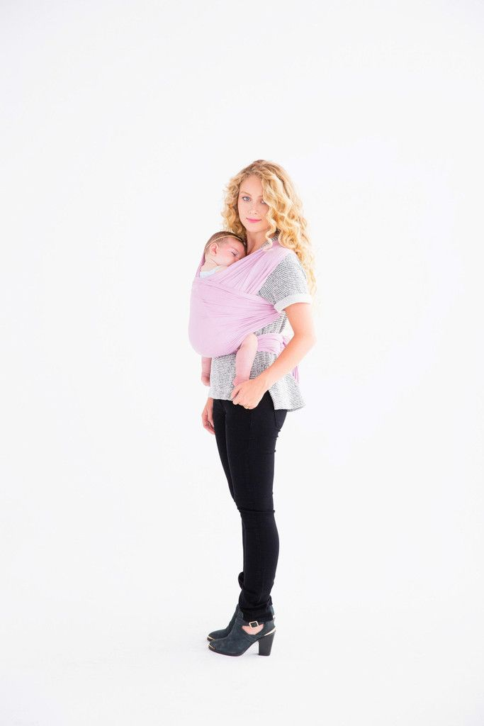Mauve solly wrap carrier