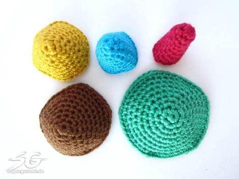 Kegel Häkeln Größen Hobby Pinterest Crochet Knitting Und Crafts