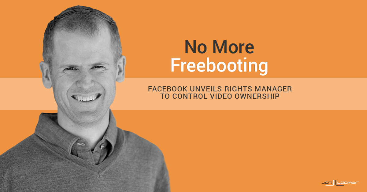 Facebook Rights Manager has been unveiled to help protect video content creators from freebooting. Here's how to set it up...