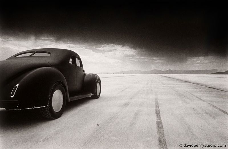 40 Coupe Salt Flat Racer photo by David Perry