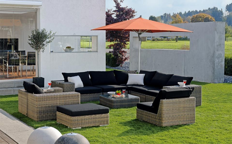 Garten lounge möbel Modern Decor Pinterest Modern