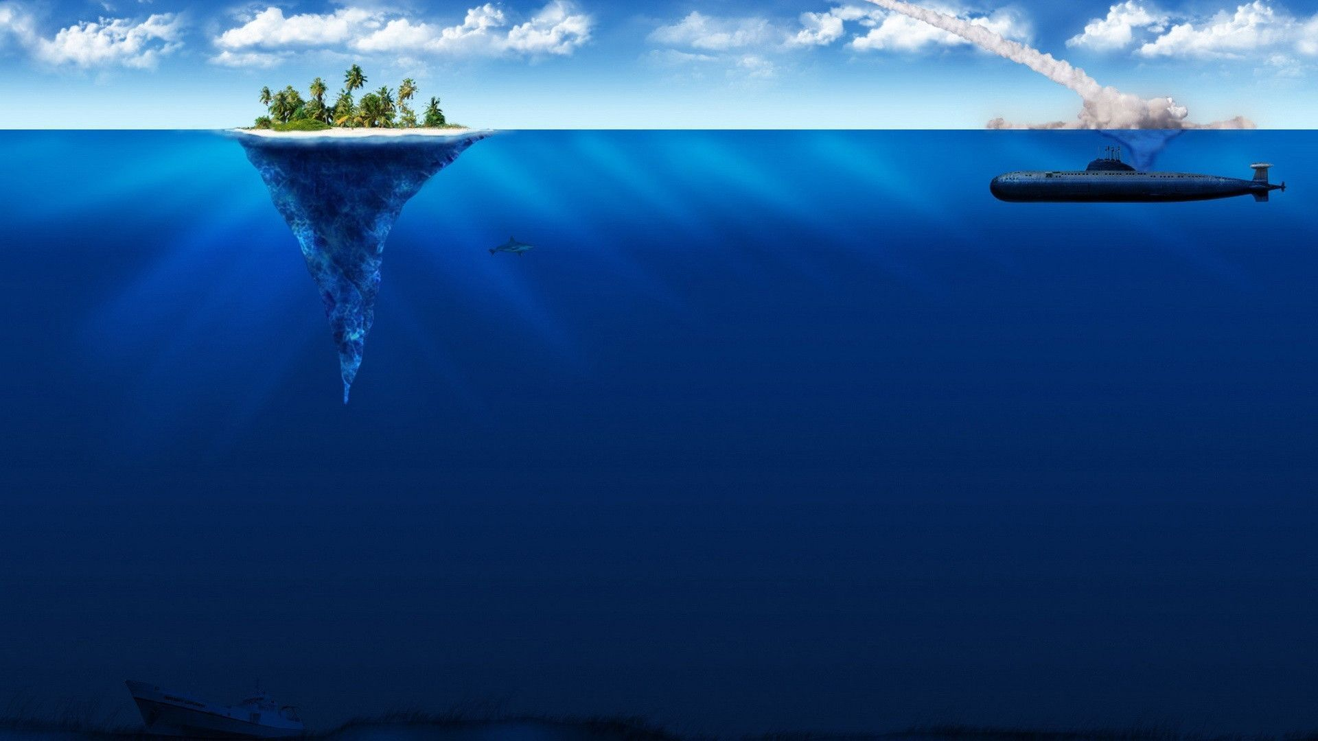 Deep Sea Wallpapers - Wallpaper Cave | Epic Car Wallpapers | Underwater wallpaper, Beach ...