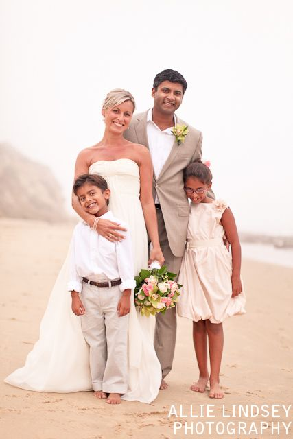 beach vow renewal with children - Google Search | {vow ...