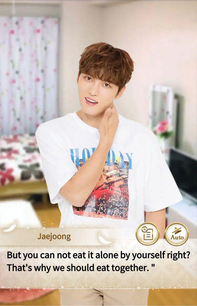 Jaejoong 20180329 Date simulation game app Jaejoong