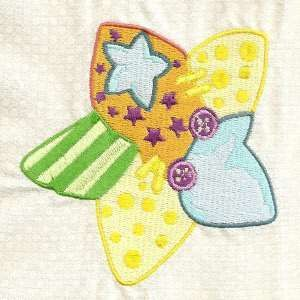 Free Embroidery Design: Patchy Baby Thing