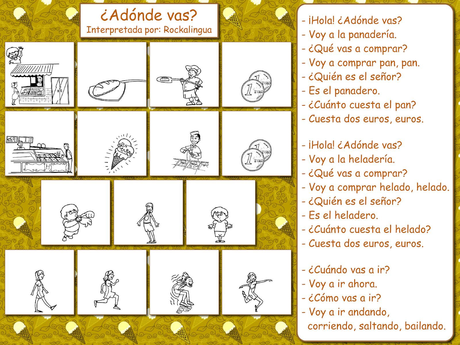 Me Encanta Escribir En Espanol Cancion Adonde Vas El
