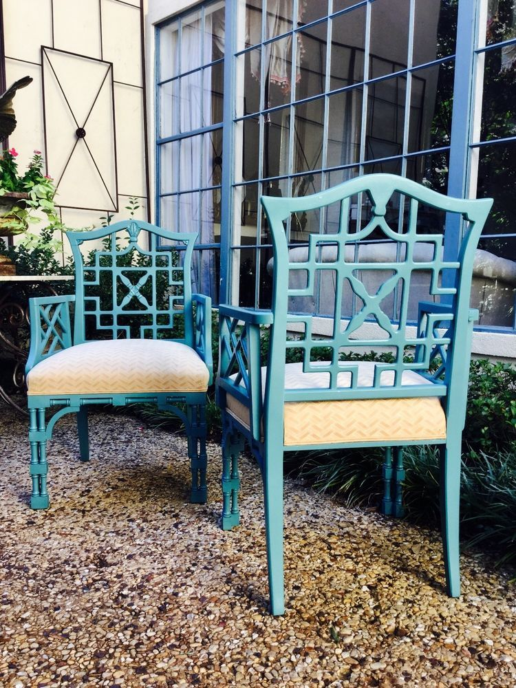 Chairs Century Chair pany Chinese Chippendale Faux bamboo