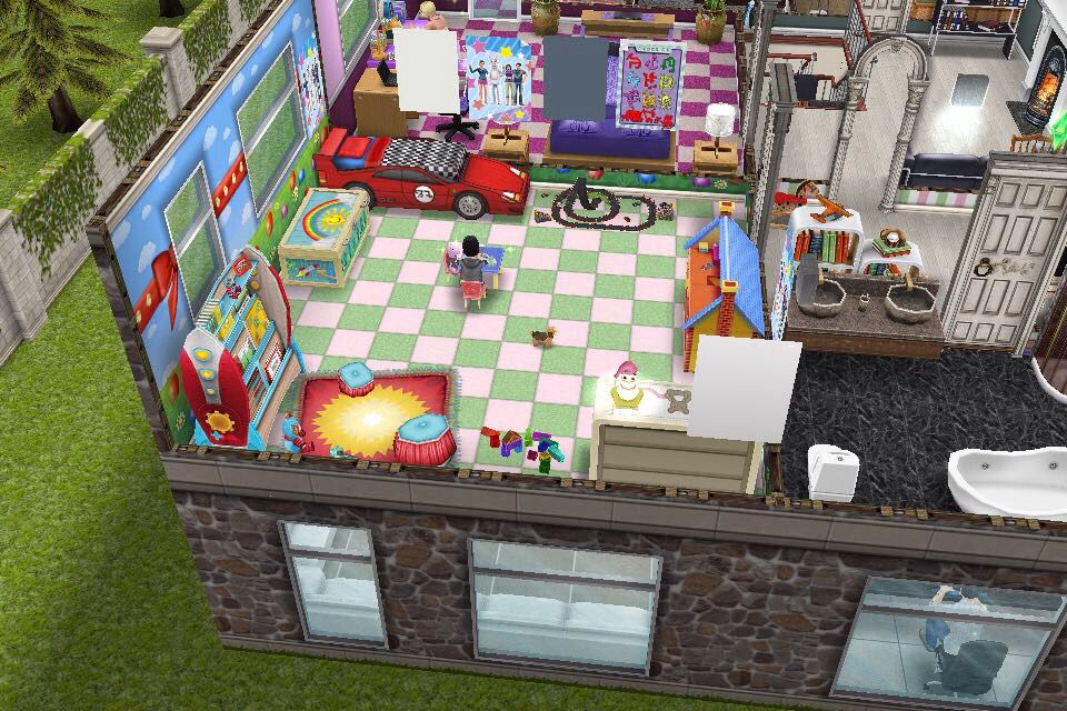 house 3 2nd building 2nd floor toddler s room boy the sims