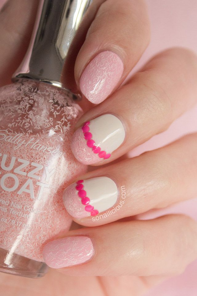 5 Ways to Wear Sally Hansen Fuzzy Coat – Look 4 Miss Pinky | Pink ...