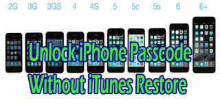 unlock iphone 4s without passcode or itunes