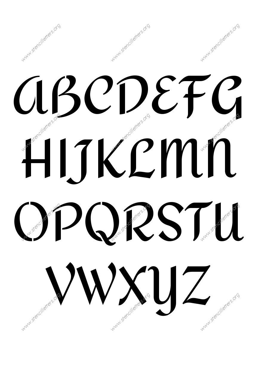 Custom Made Stencils Online Page91 Stencil Letters
