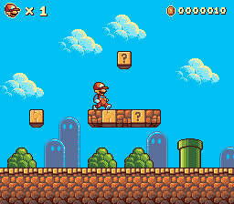 Super Mario Remake Pixeljoint Com Pixel Art Games Game Level Design Pixel Art Design