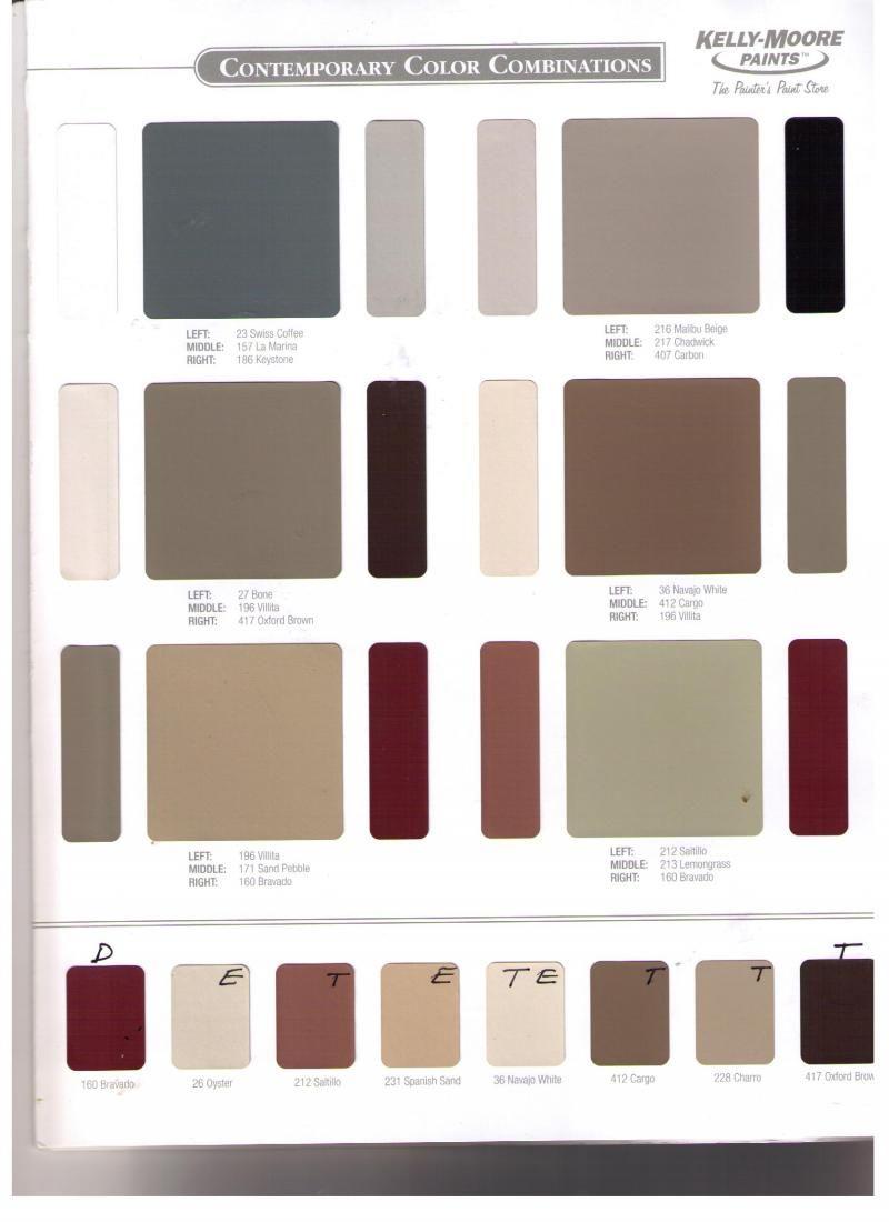 Kelly Moore Color Chart Colorpaints Co