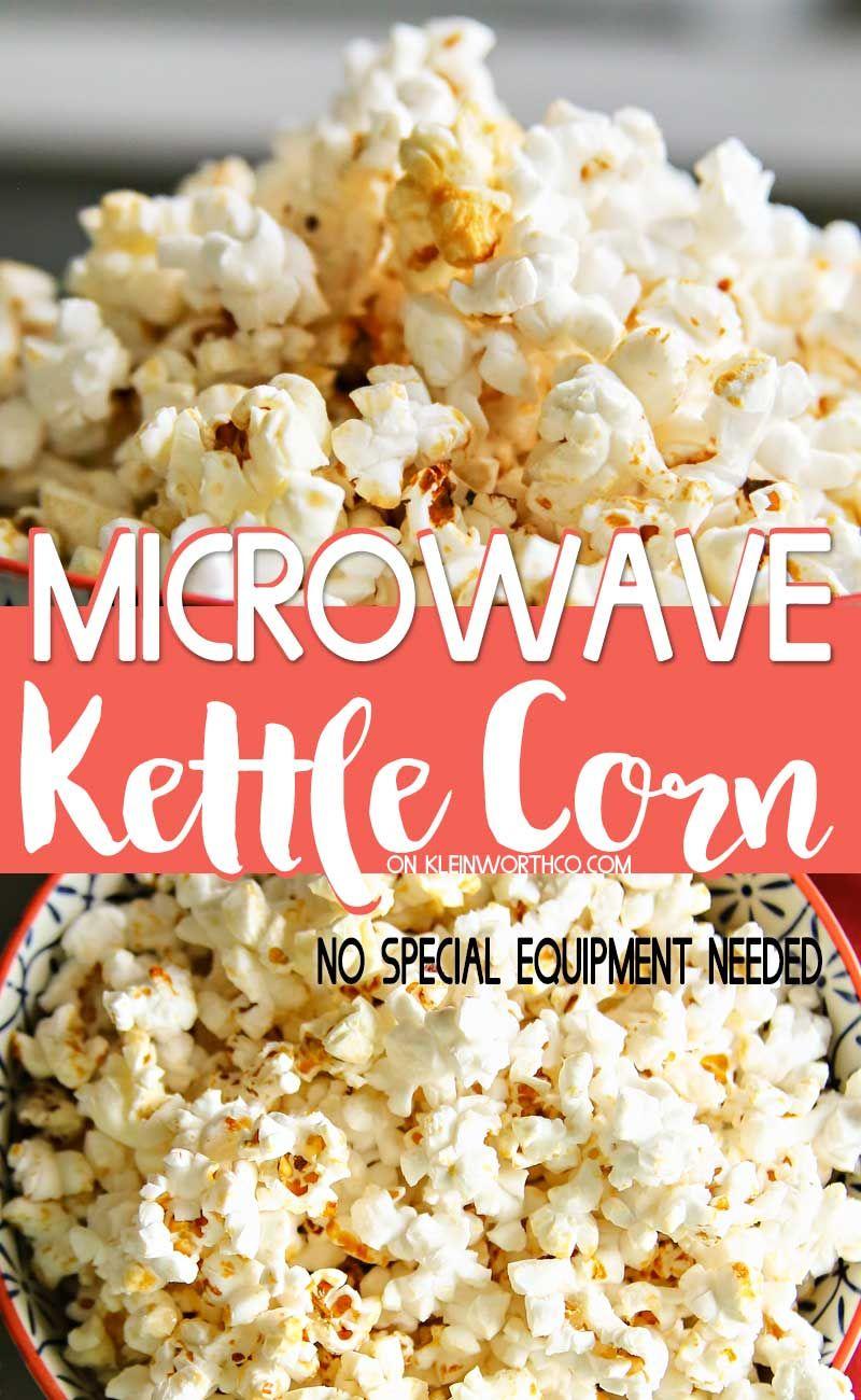 32++ Kettle corn recipe with microwave popcorn ideas