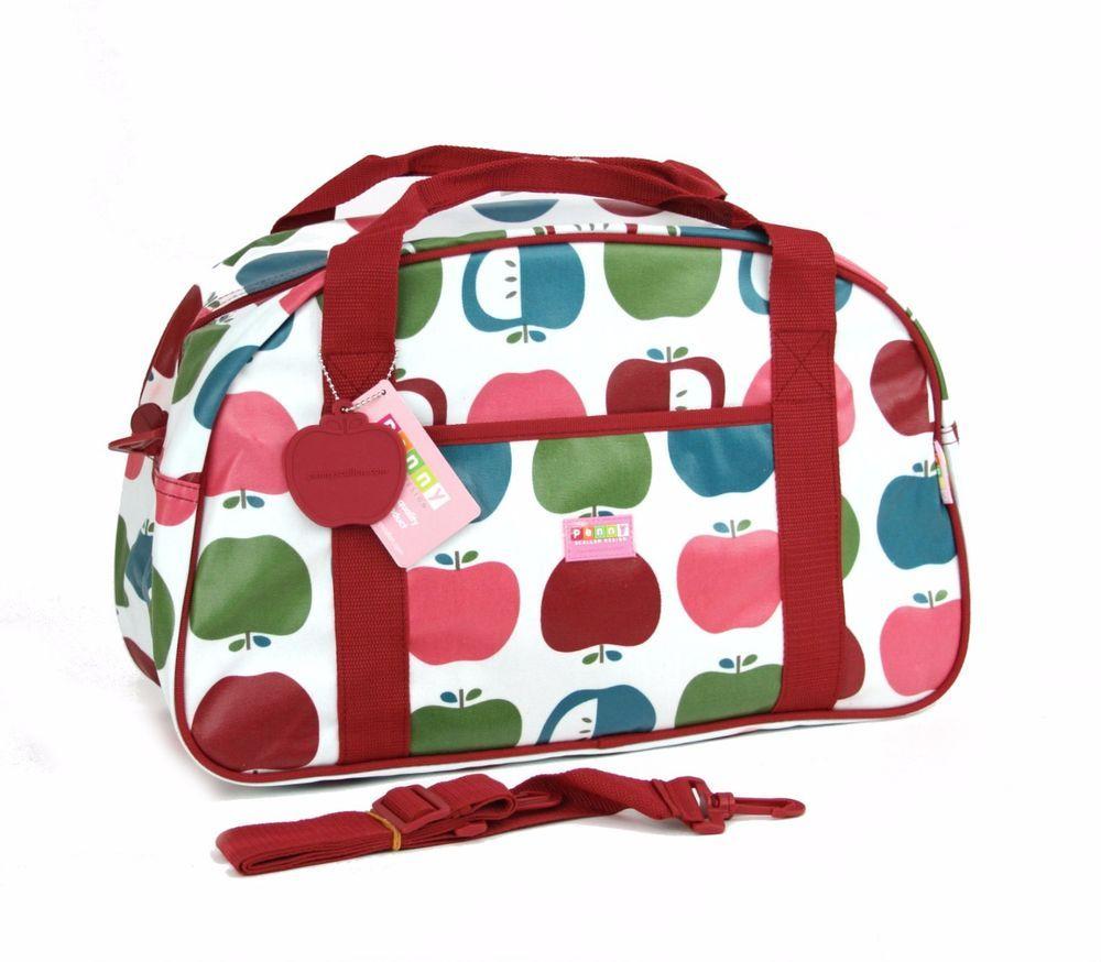 6f9b249cd8 Penny Scallan Design Australia Juicy Apple Sleepover Duffle Bag Youth Kid  17