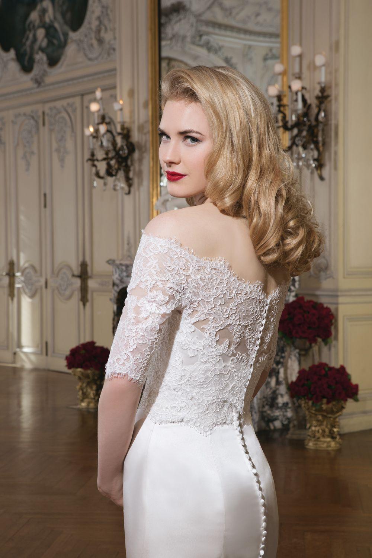 Justin alexander wedding dresses style regal satin alencon
