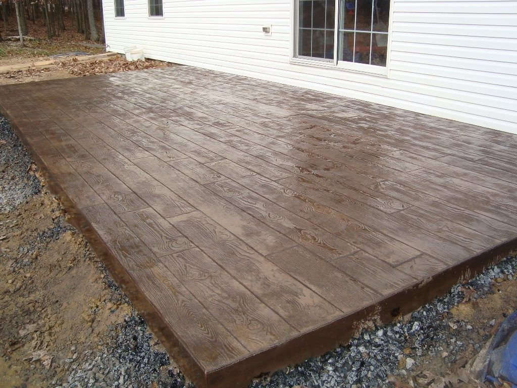 cement patio cost simple with image of decorating ideas cement