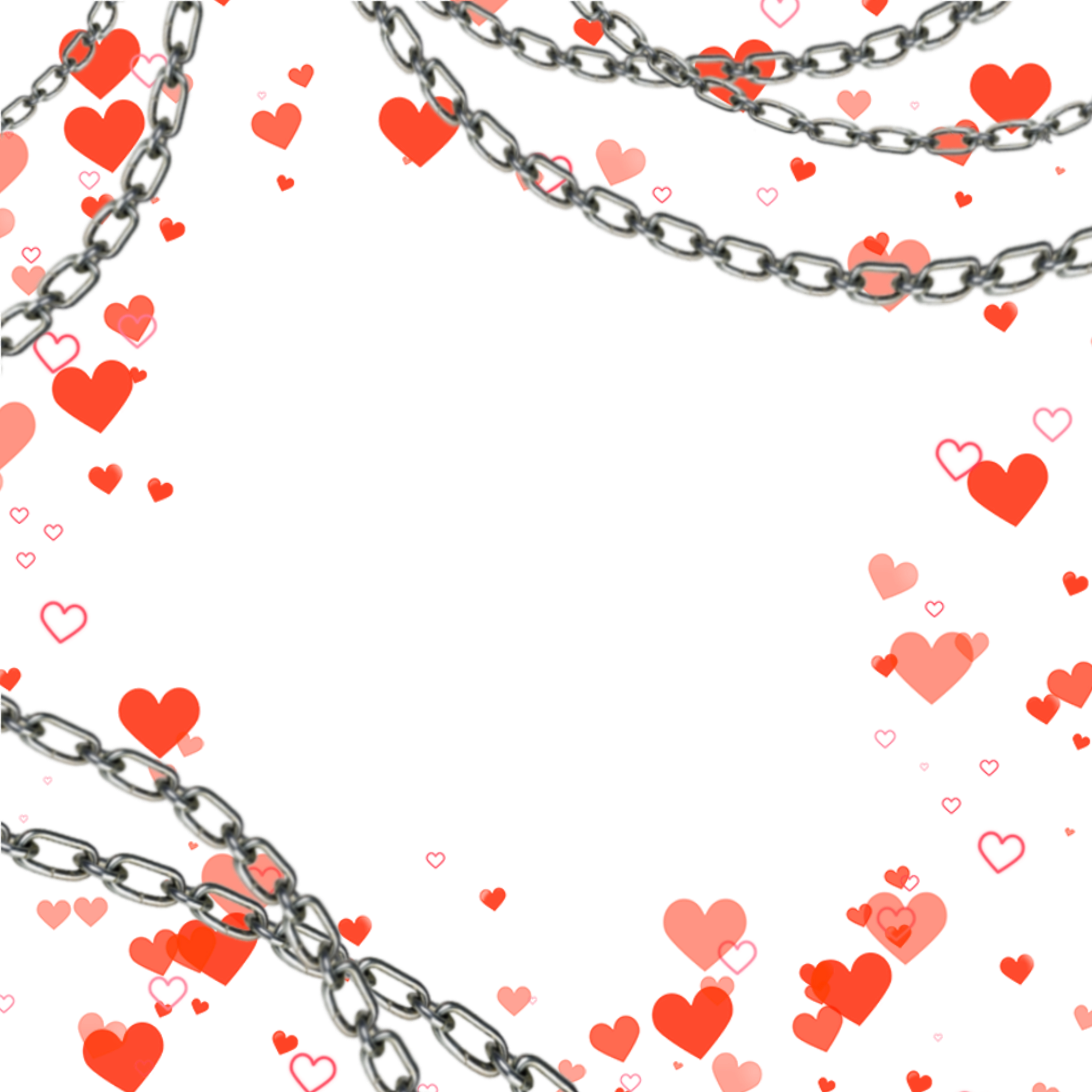 Heartframe Chains Chainframe Edgy Aesthetic Redheartframe Redhearts Border Freetoedit Overlays Picsart Heart Frame Goth Wallpaper
