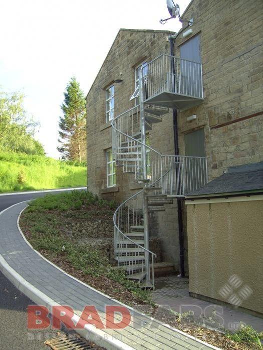 Best Galvanised Spiral Staircase Spiral Staircase Steel 400 x 300