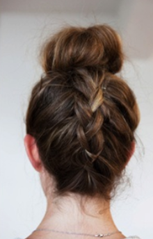 Phenomenal Easy Everyday Hairstyles Buns And Everyday Hairstyles On Pinterest Hairstyles For Men Maxibearus