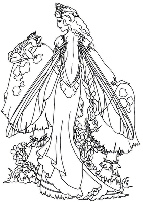 image detail for fairy coloring pages 2 printable coloring pages for adults