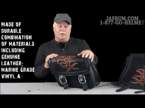 A new video about Saddlebags has been posted at http://motorcycles.classiccruiser.com/saddlebags/saddlemen-highwayman-tattoo-saddlebags-review-jafrum-com/
