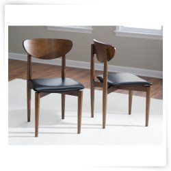 Belham Living Carter Mid Century Modern Dining Chair Set of 2