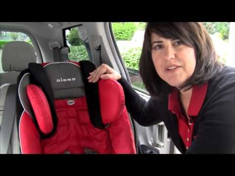 Raising The Head Support On Diono RadianRRXT And RadianRGTX Car Seats Carseats Safety Kids