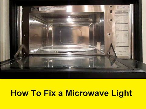 How To Replace The Light Bulb In A Kitchenaid Superba Microwave For 2