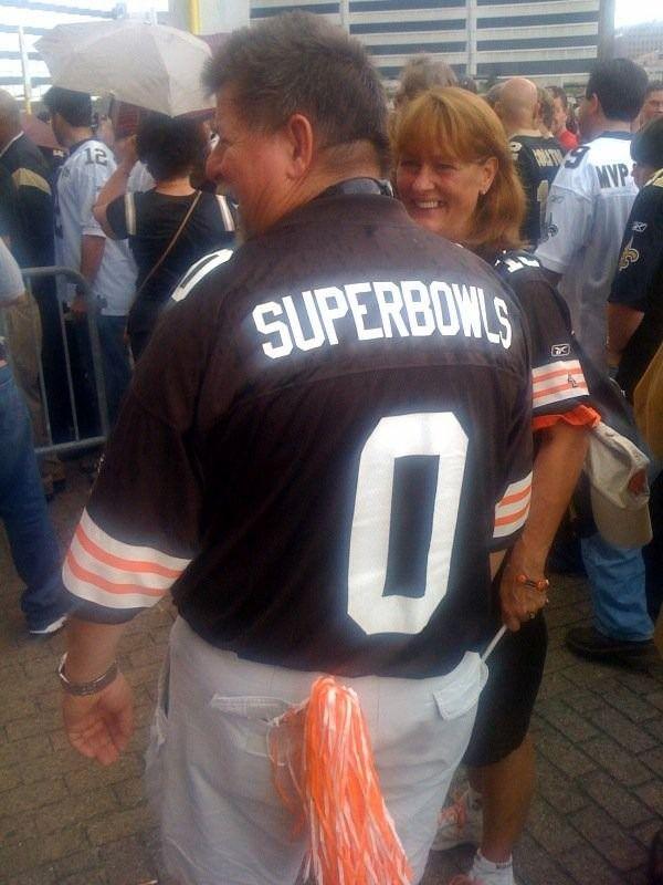 Fitting Cleveland Browns jerseySuper Bowls = 0 | cleveland browns