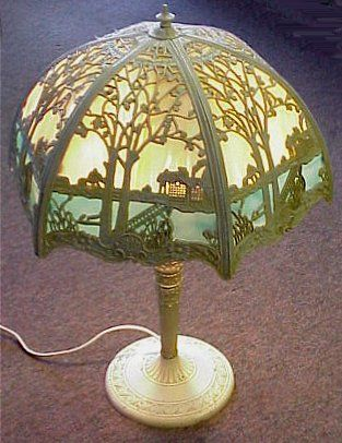 antique slag glass lamps uk - Google Search | lighting | Pinterest ...