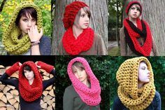 Casa da Salete: Golas de trico ou croche