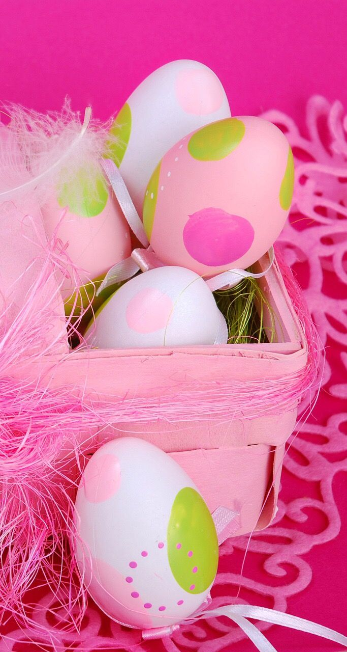 Easter Bunny Couple With Egg Wallpaper Sudingfamily