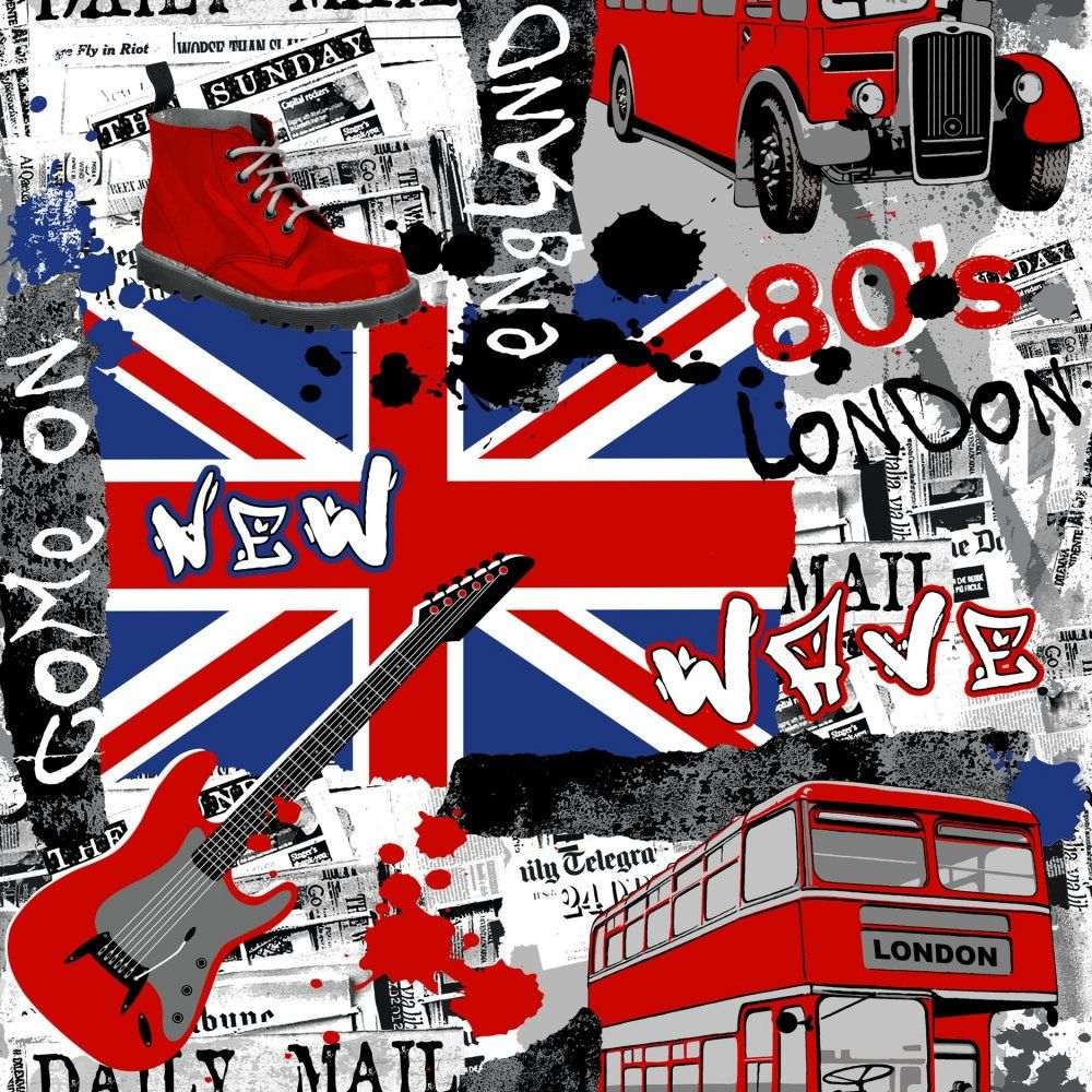 London Wallpaper For Bedrooms Funky Wallpaper For Bedroom Funky Wallpaper Bedroom Designs