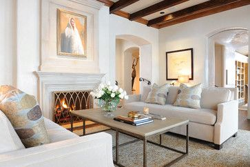 Vick Crew Interiors Projects mediterranean Living Room Other