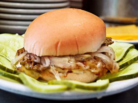 food network magazine hit the road to find one burger you absolutely have to try in