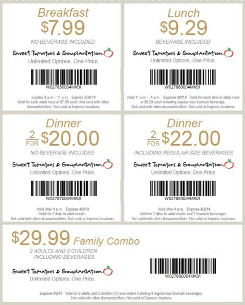 photograph relating to Souplantation Printable Coupons named absolutely free Souplantation coupon for June Coupon Photographs Print